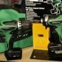 Hitachi 2 piece cordless drill driver